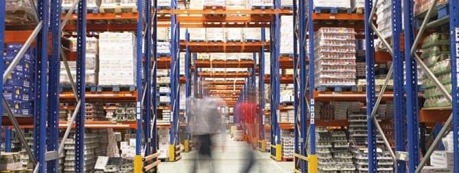 Aircraft parts warehouse