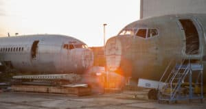 Aircraft Recycling Airplane Recycling Green Aviation Sustainability Aerospace