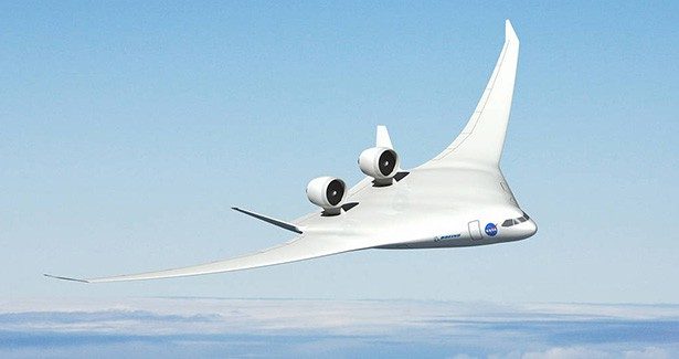 NASA X-Plane Experimental Aircraft Blended Wing Body Future of Aerospace Aviation