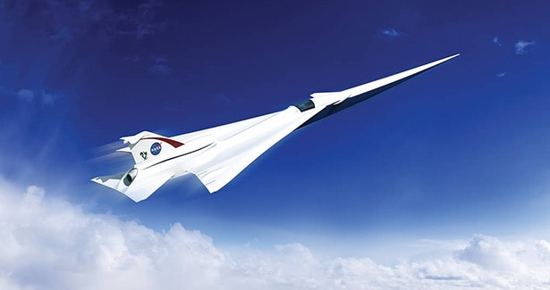 NASA X-Plane Experimental Aircraft QueSST Lockheed Martin Future of Aerospace Aviation