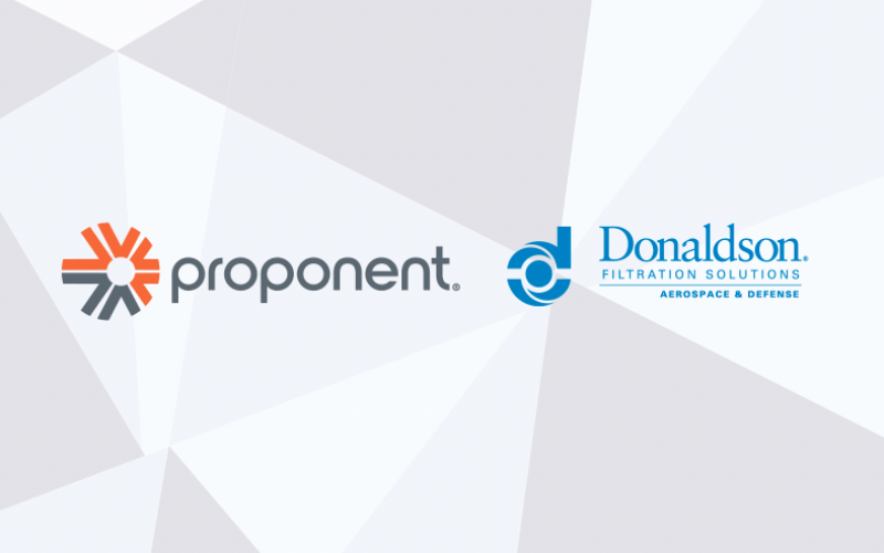 Proponent Expands Their Relationship With Donaldson Company to Serve North and South America