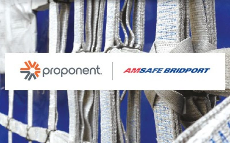 Proponent Partners With AmSafe Bridport to Serve the EMEA and Americas Market